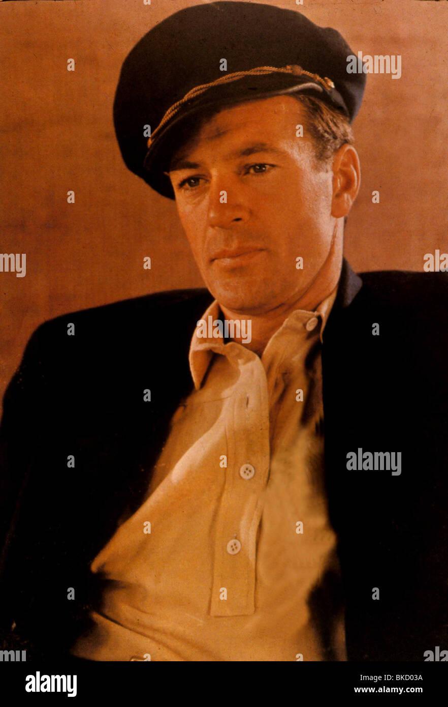 GARY COOPER PORTRAIT - Stock Image