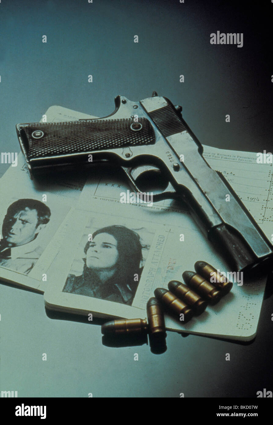 THE GETAWAY -1972 POSTER - Stock Image