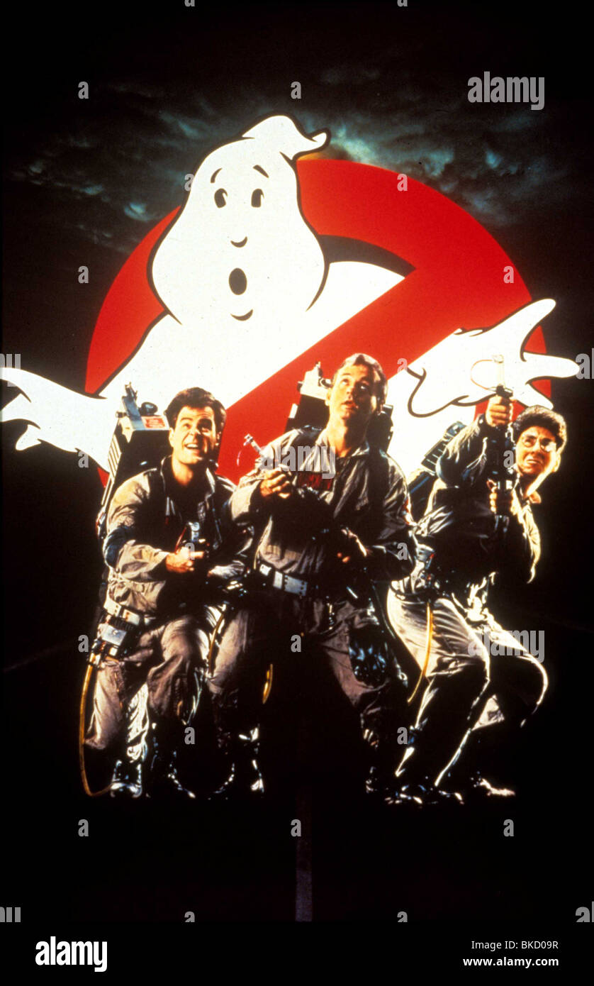 Ghostbusters Movie Poster Stock Photos Ghostbusters Movie Poster