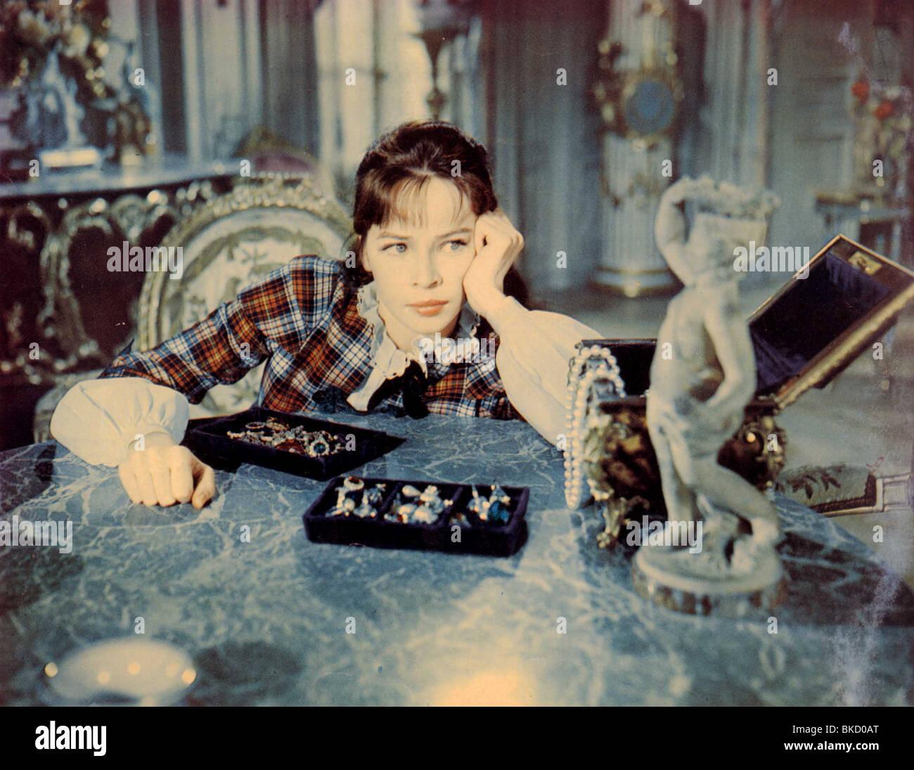 GIGI -1958 LESLIE CARON - Stock Image