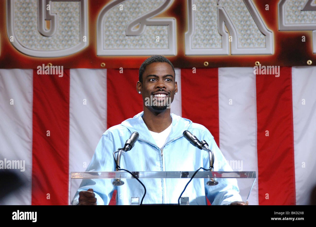 HEAD OF STATE (2003) CHRIS ROCK HOSE 001-3446 - Stock Image