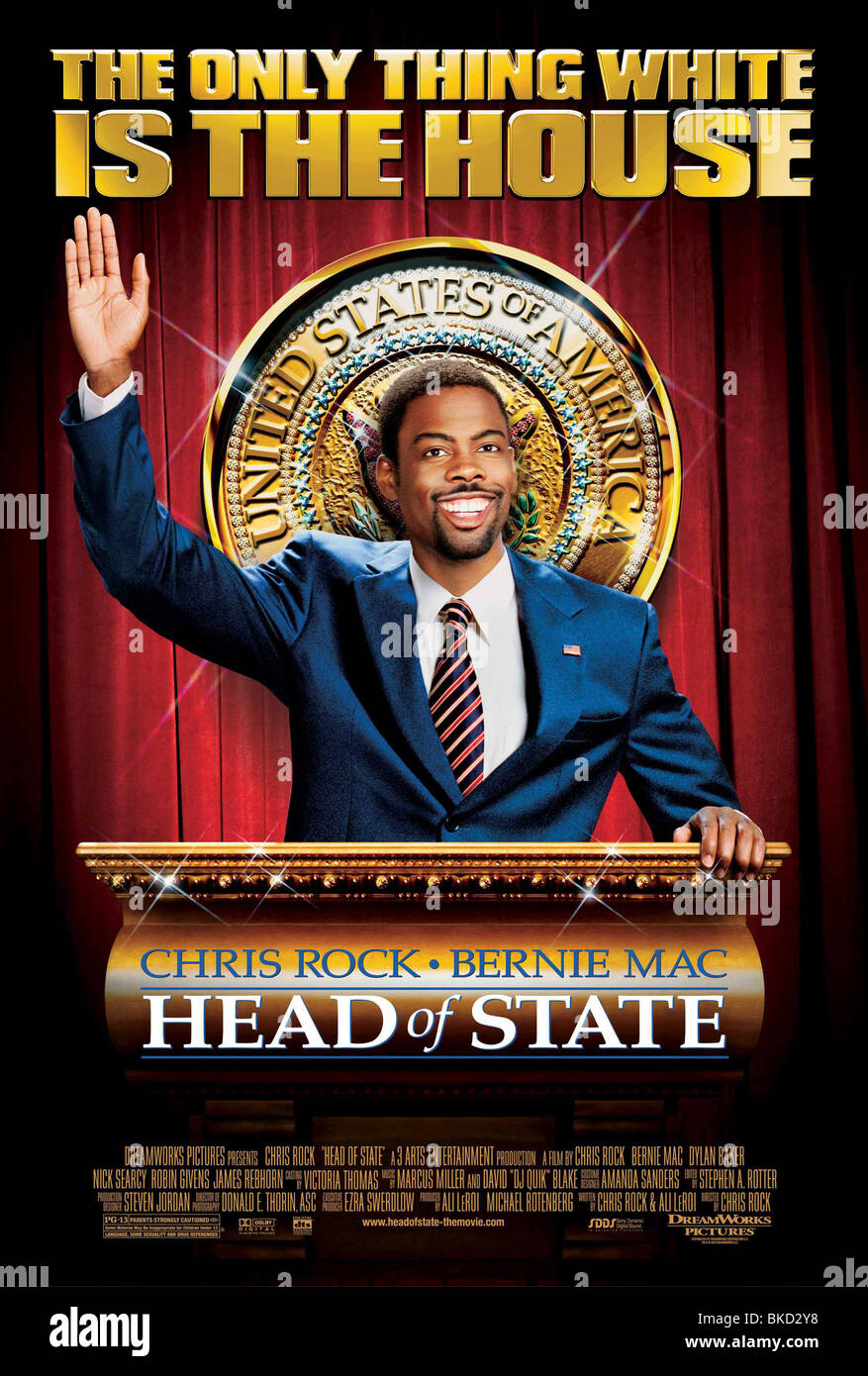 HEAD OF STATE -2003 POSTER - Stock Image