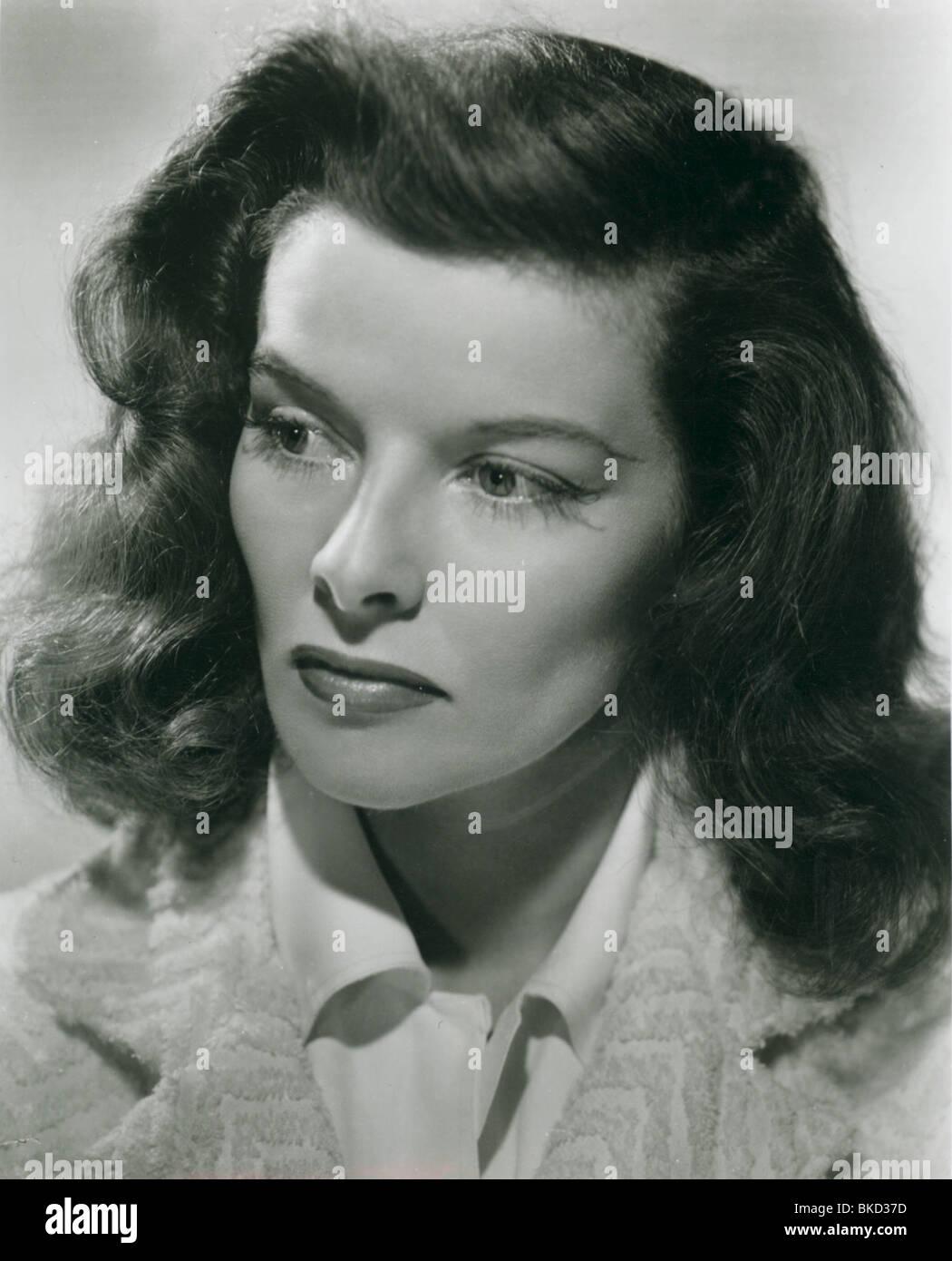 KATHARINE HEPBURN PORTRAIT - Stock Image