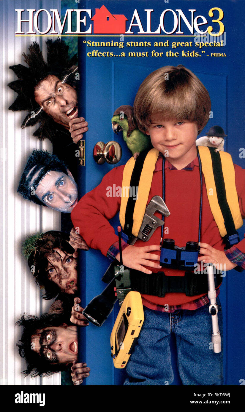 Home Alone 3 1997 Poster Stock Photo Alamy