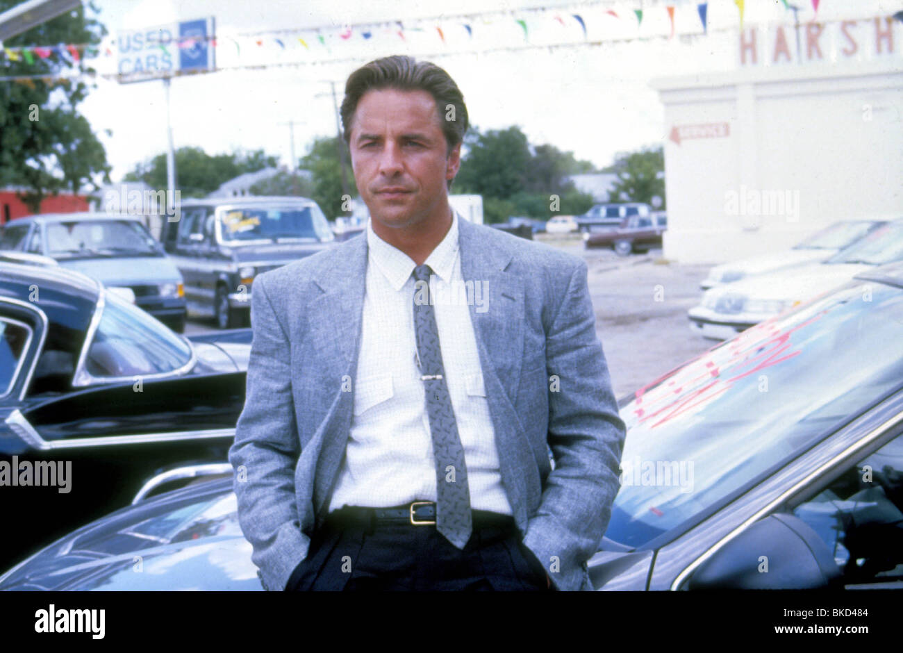 THE HOT SPOT -1990 DON JOHNSON - Stock Image