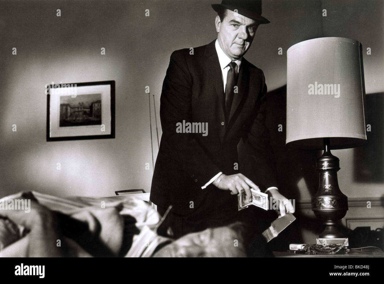 HOTEL -1967 KARL MALDEN - Stock Image