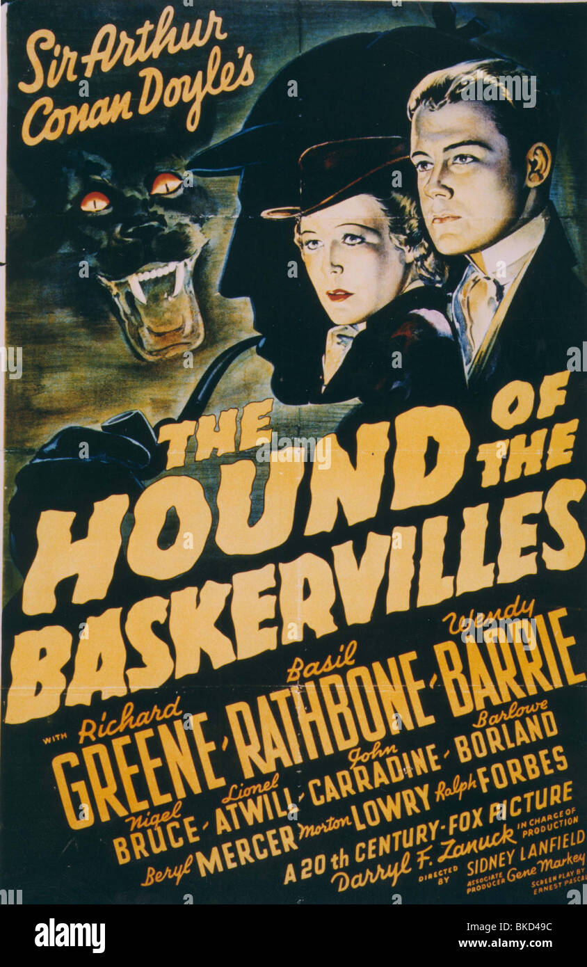 The Hound Of The Baskervilles    1930/'s Movie Posters Classic /& Vintage Cinema