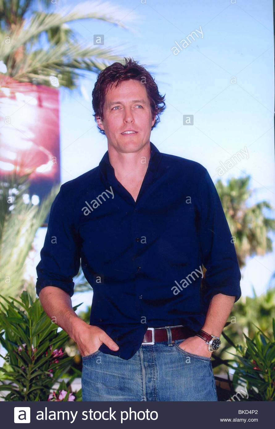 HUGH GRANT PORTRAIT Stock Photo