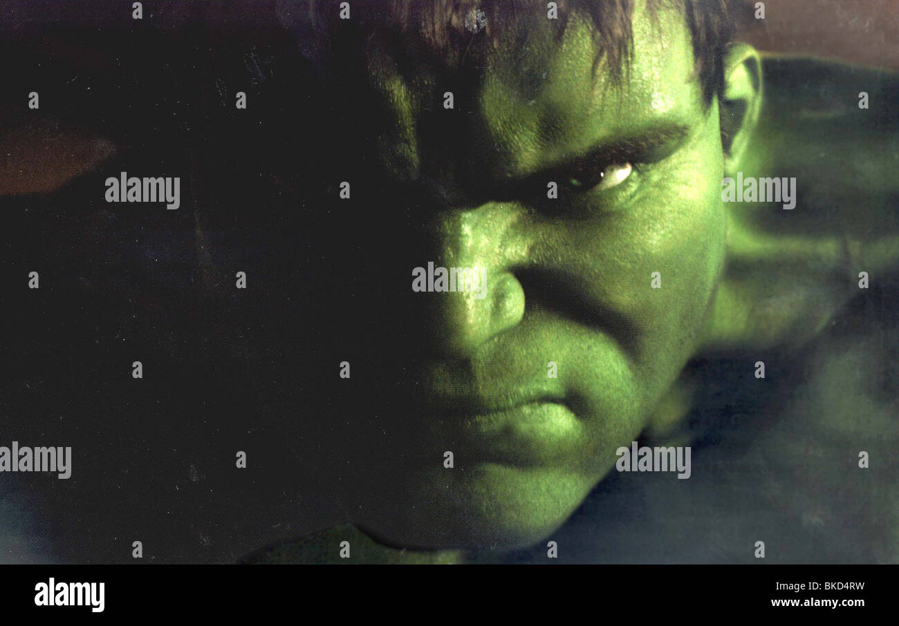THE HULK -2003 - Stock Image
