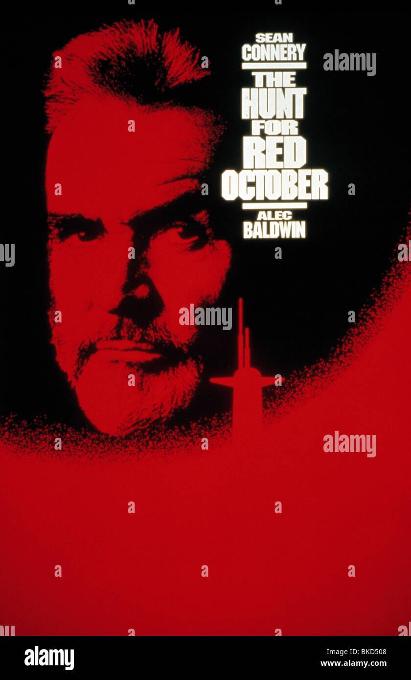 The Hunt For Red October 1990 Poster Hro 032 L Stock Photo Alamy