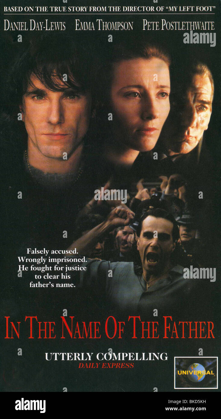 IN THE NAME OF THE FATHER (1993) POSTER INF 001VS - Stock Image