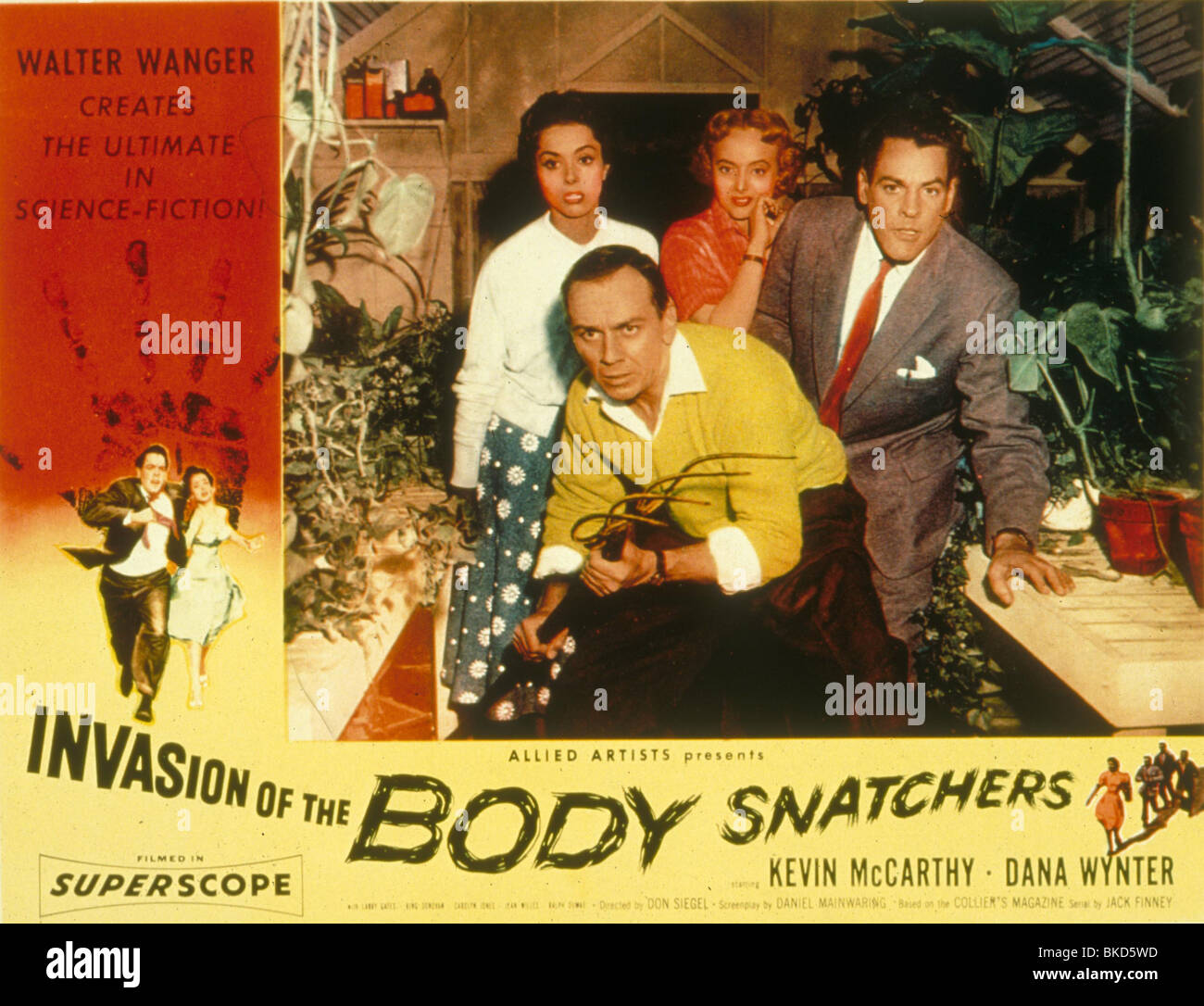 INVASION OF THE BODY SNATCHERS (1956) POSTER IBS 006 - Stock Image