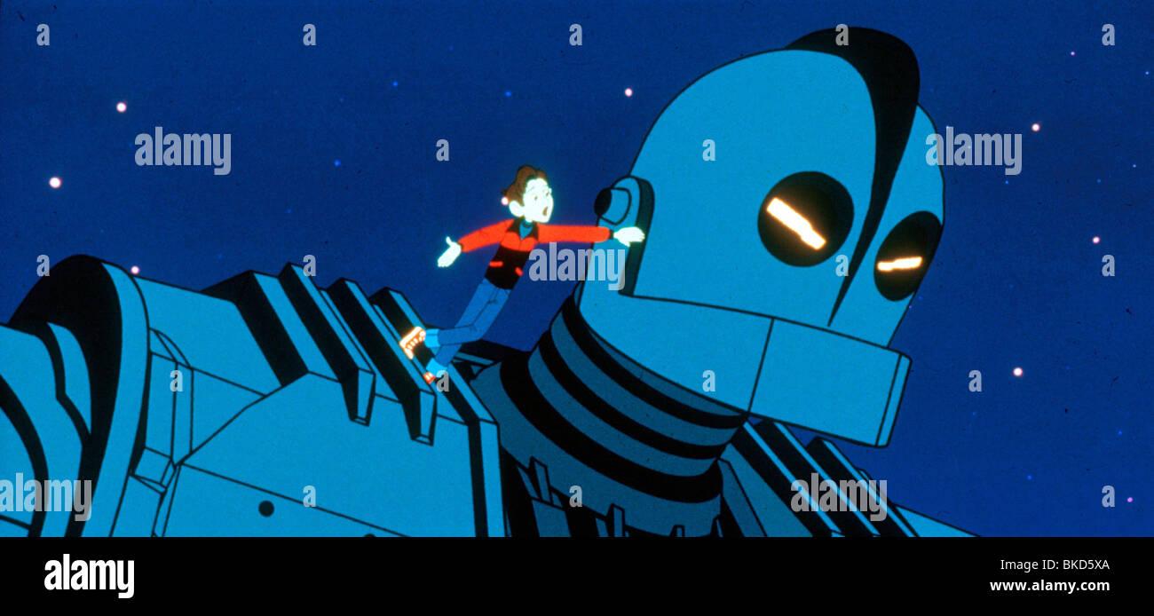 THE IRON GIANT -1999 - Stock Image