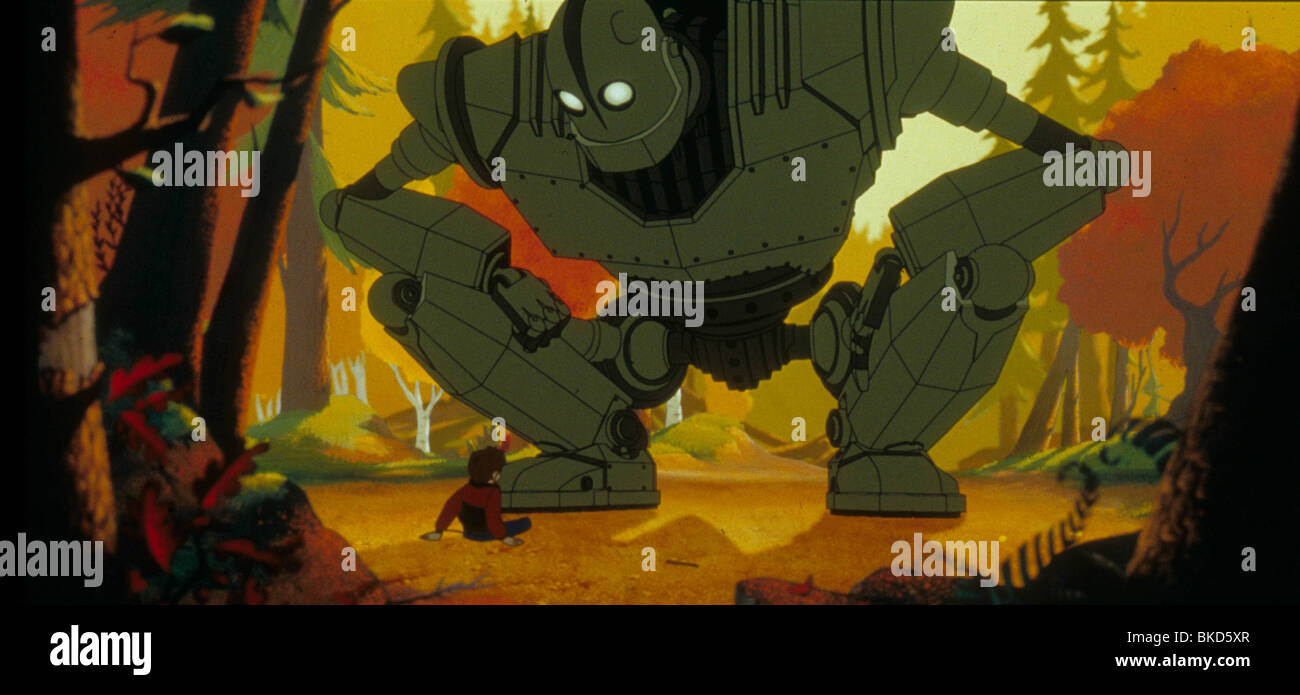 THE IRON GIANT -1999 Stock Photo