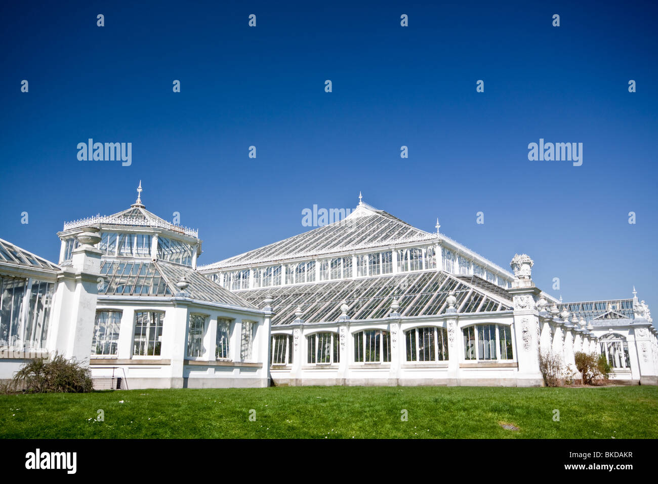 Temperate House Kew Gardens - Stock Image