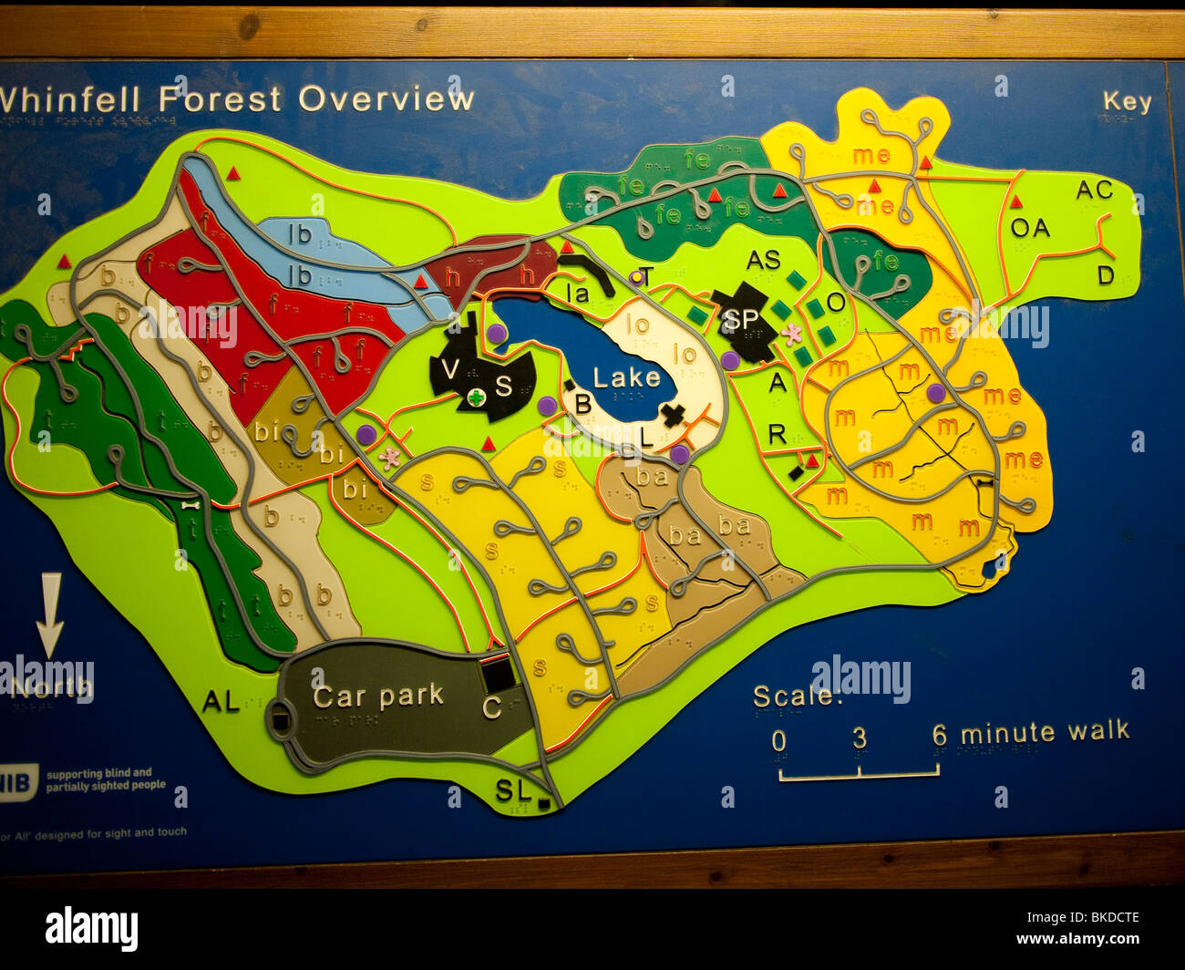 Centre Parcs Whinfell Map Centre Parcs Map, Lake Distric, UK Stock Photo: 29184302   Alamy