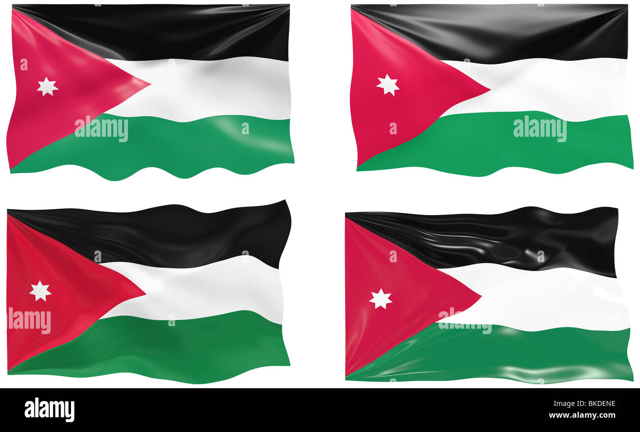 great image of the flag of jordan stock photo 29185786 alamy