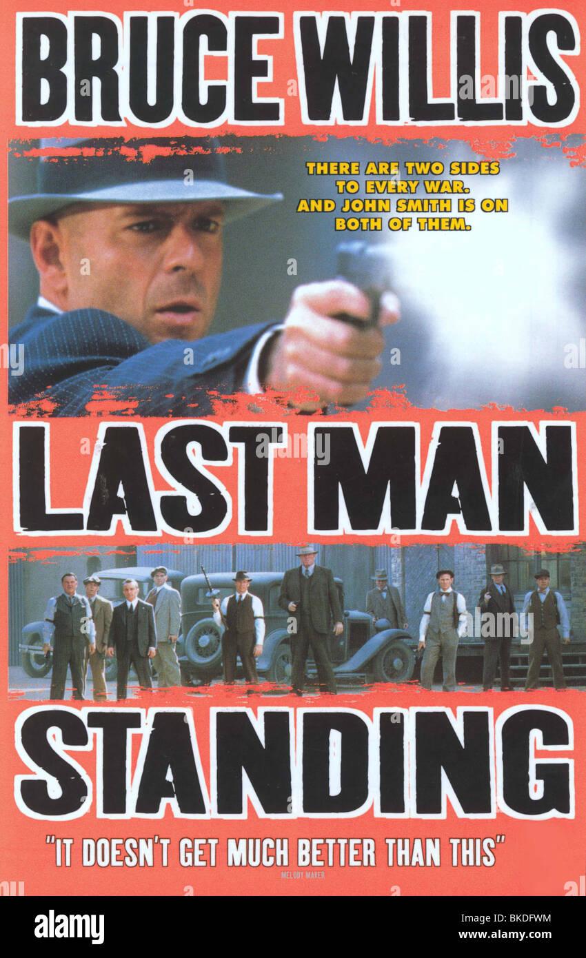 LAST MAN STANDING (1996) POSTER LAMA 001VS - Stock Image