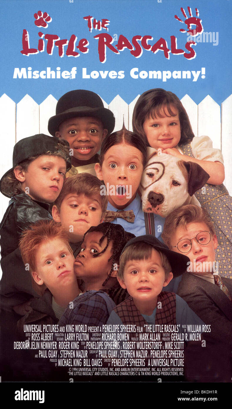 the little rascals 1994 poster litr 001vs stock photo