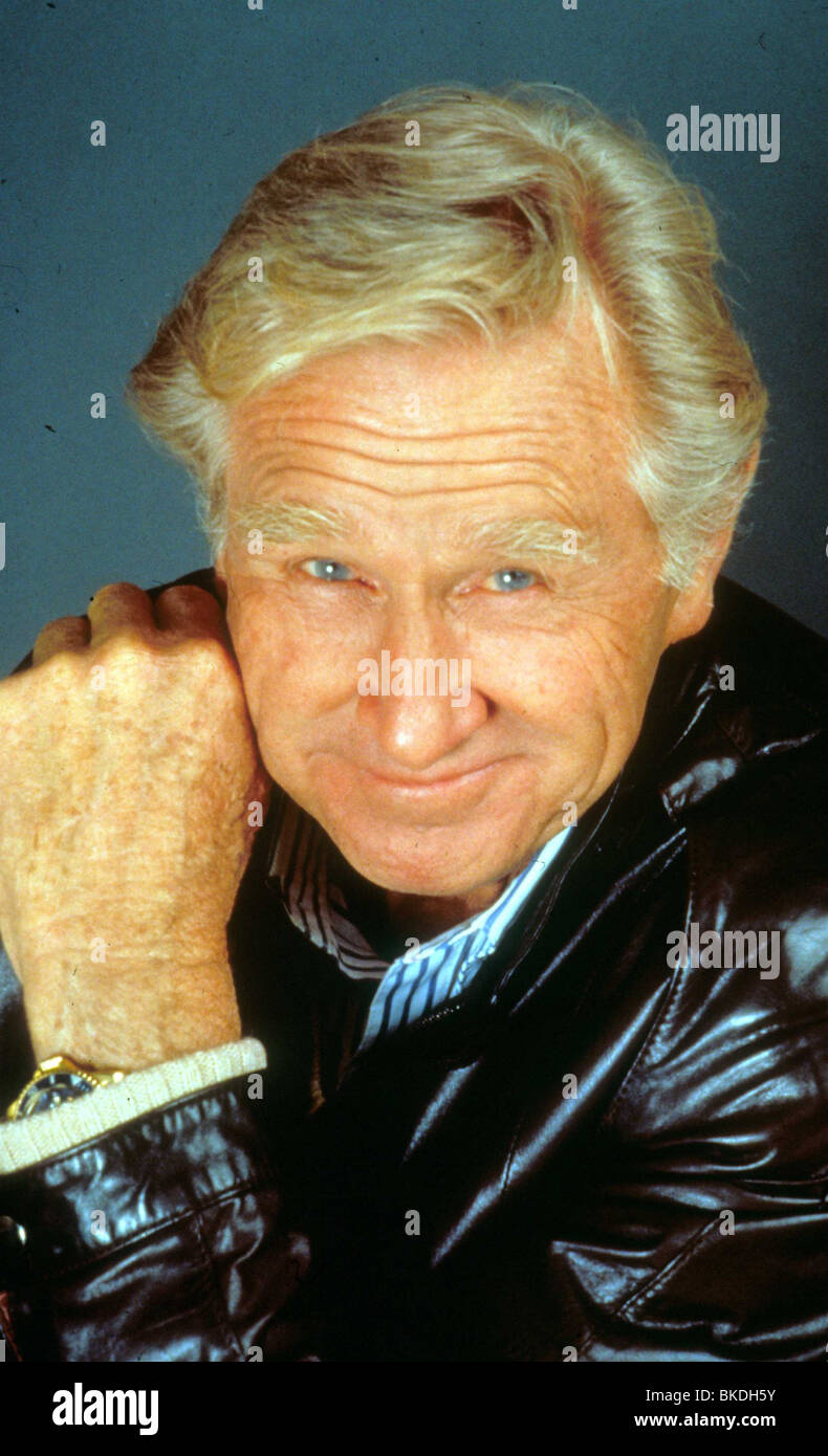 LLOYD BRIDGES PORTRAIT - Stock Image