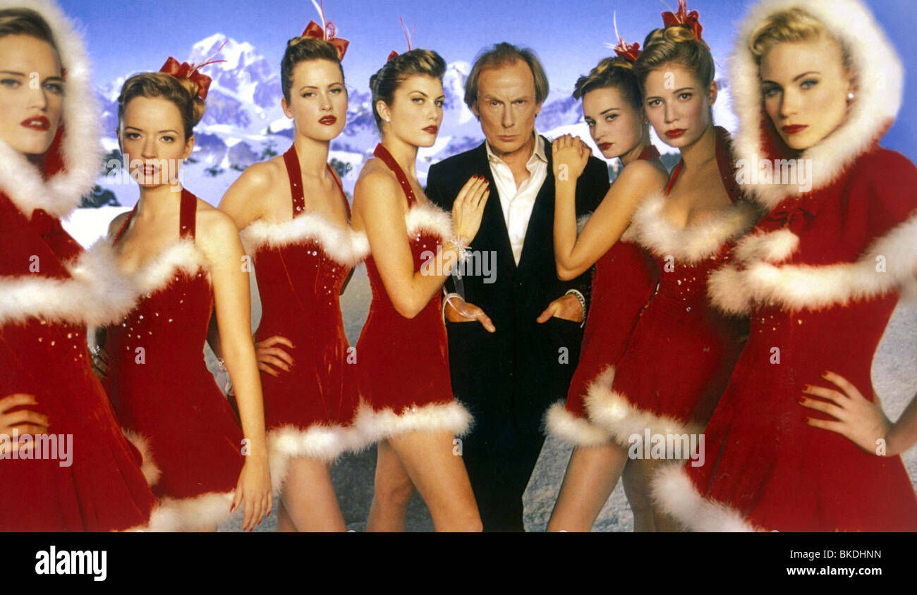 LOVE ACTUALLY (2003) BILL NIGHY LACT 006FOH - Stock Image