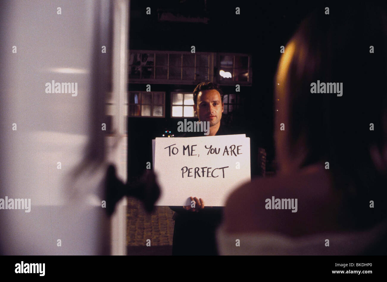 LOVE ACTUALLY (2003) ANDREW LINCOLN LACT 001-1920 - Stock Image