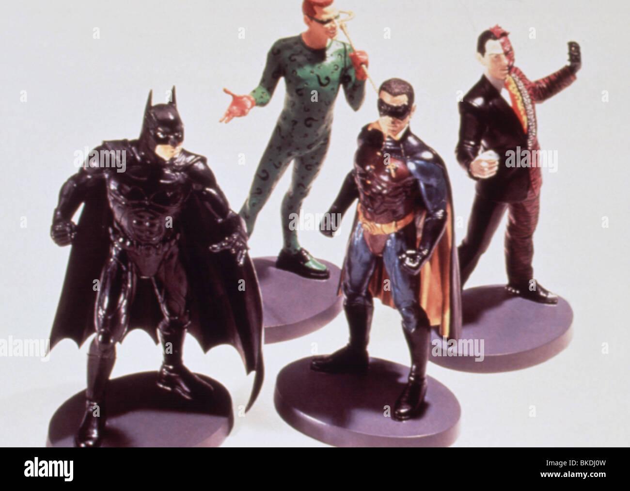 BATMAN FOREVER (1995) MERCHANDISE FIGURINES MERH 003 - Stock Image