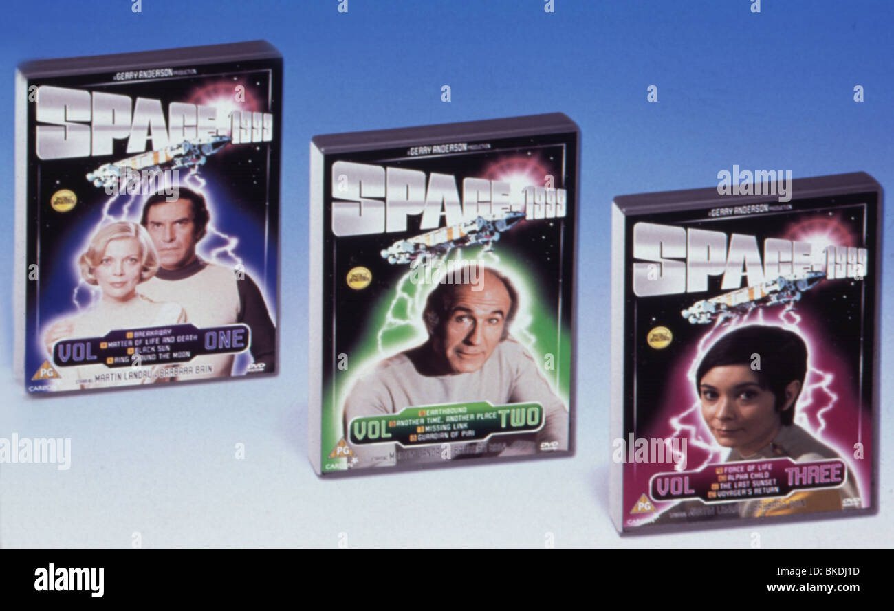 SPACE 1999 (TV) MERCHANDISE DVD COLLECTION MEHR 087 - Stock Image