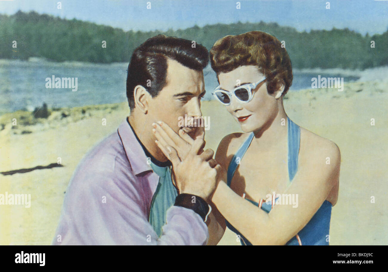 MAGNIFICENT OBSESSION (1954) ROCK HUDSON, JANE WYMAN MAGO 001FOH - Stock Image