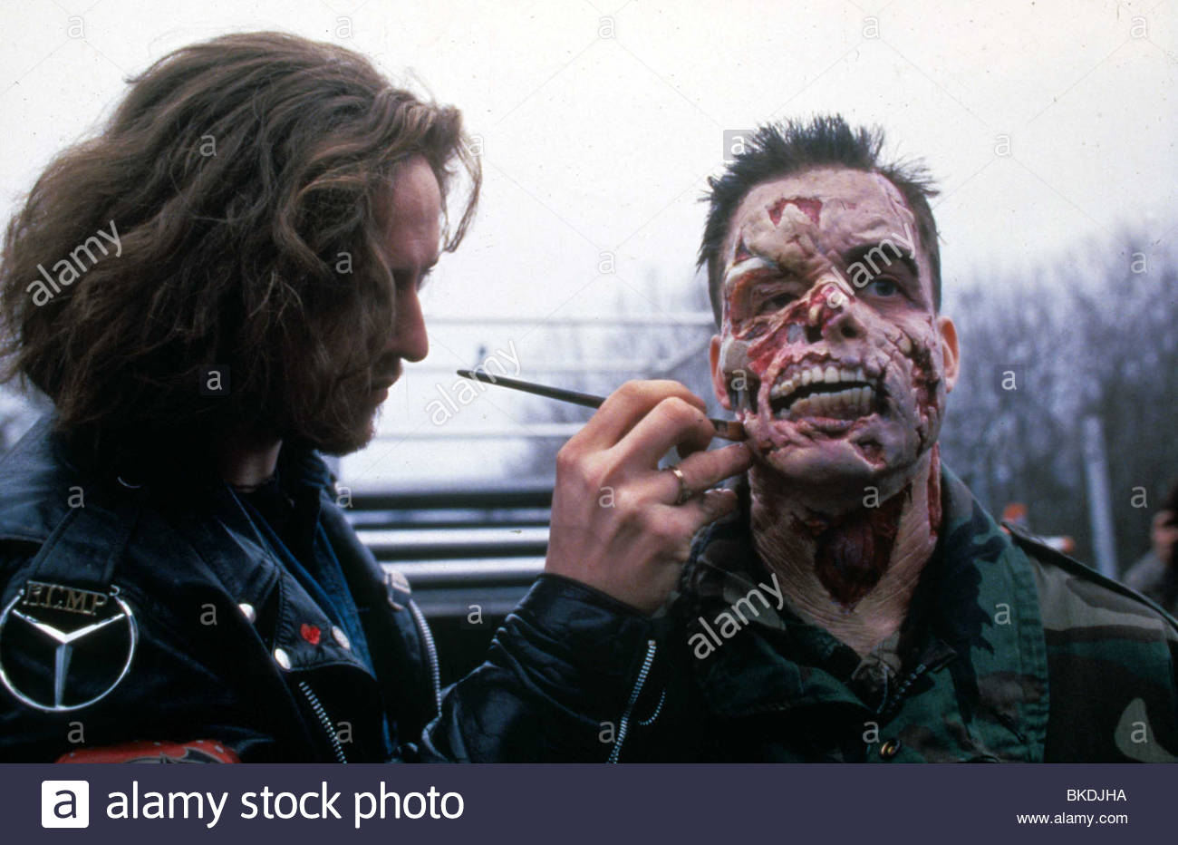 MAKE-UP THE X-FILES - Stock Image