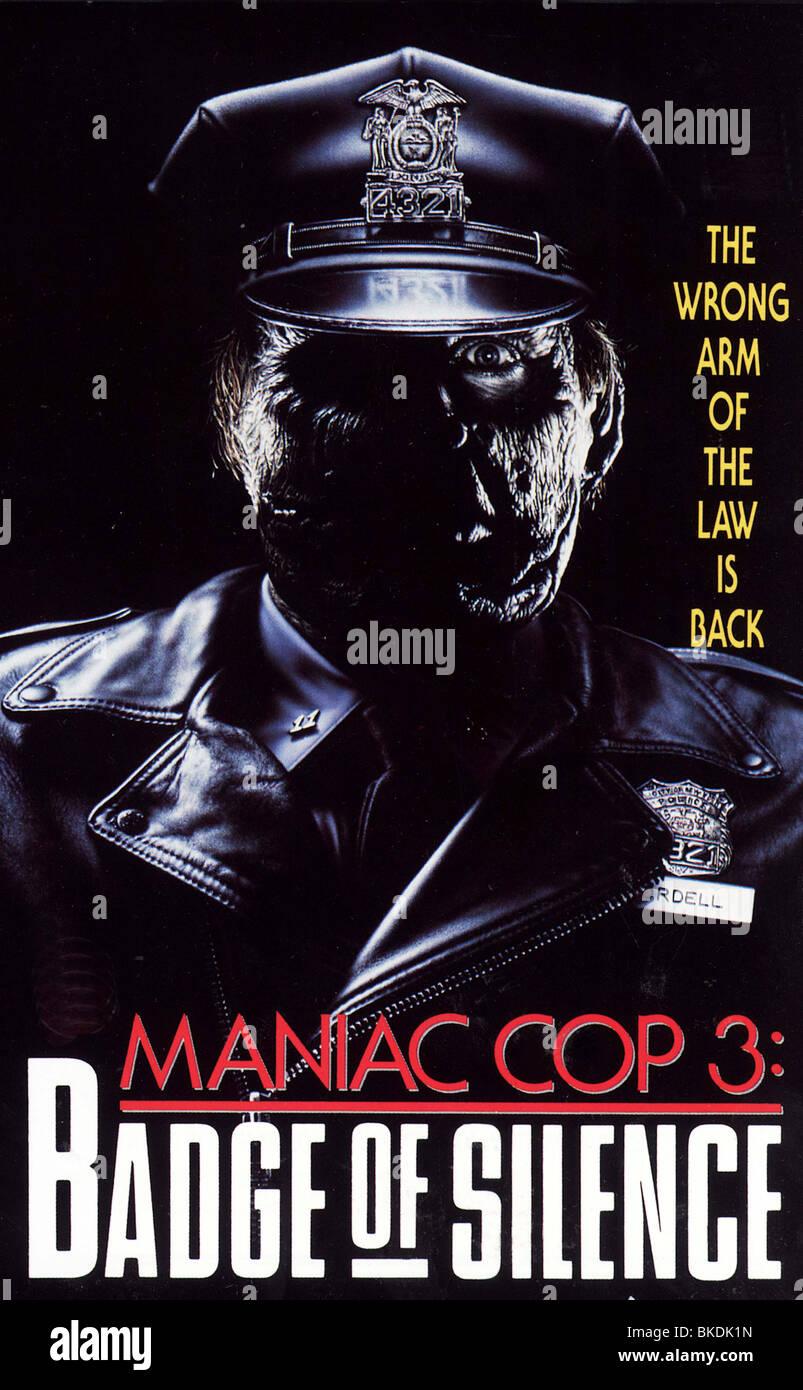 MANIAC COP III (1992) MANIAC COP 3 (ALT) POSTER MC3 001VS - Stock Image