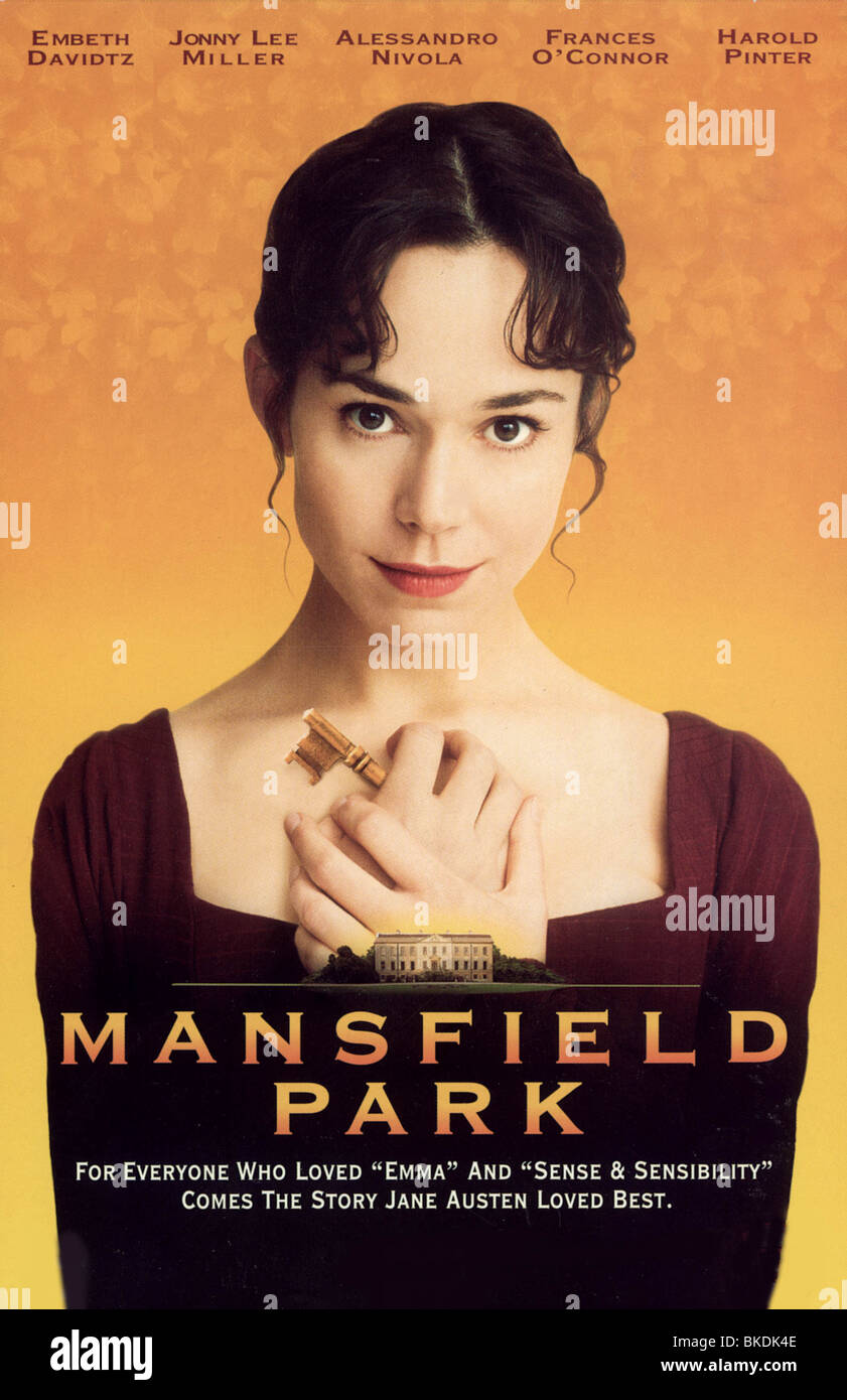 MANSFIELD PARK -1999 POSTER - Stock Image