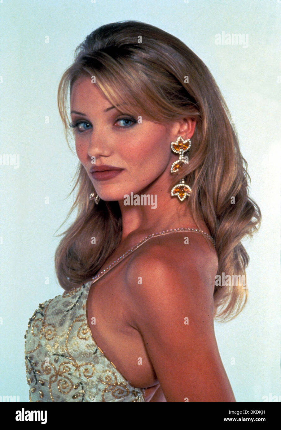 THE MASK -1994 CAMERON DIAZ - Stock Image