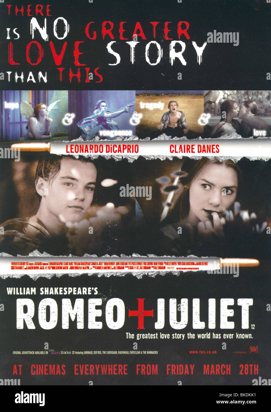 Romeo Juliet 1996 Movie High Resolution Stock Photography And Images Alamy