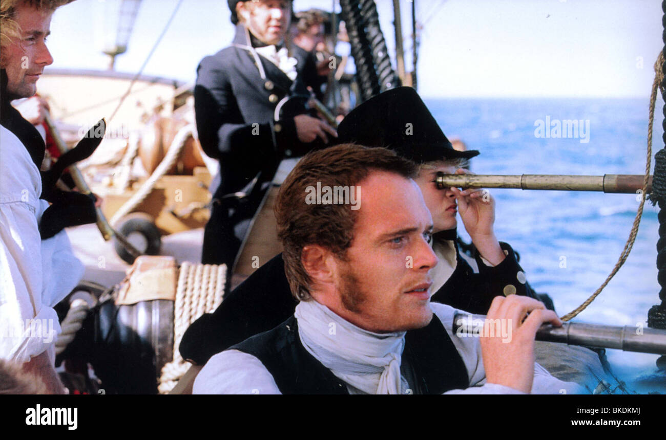 MASTER AND COMMANDER: THE FAR SIDE OF THE WORLD (2003) PAUL BETTANY MACO 002FOH - Stock Image