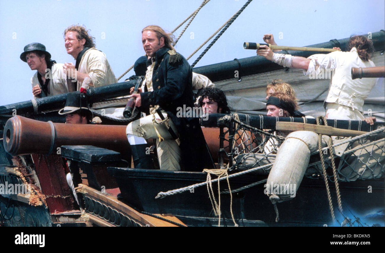 MASTER AND COMMANDER: THE FAR SIDE OF THE WORLD (2003) RUSSELL CROWE MACO 006FOH - Stock Image
