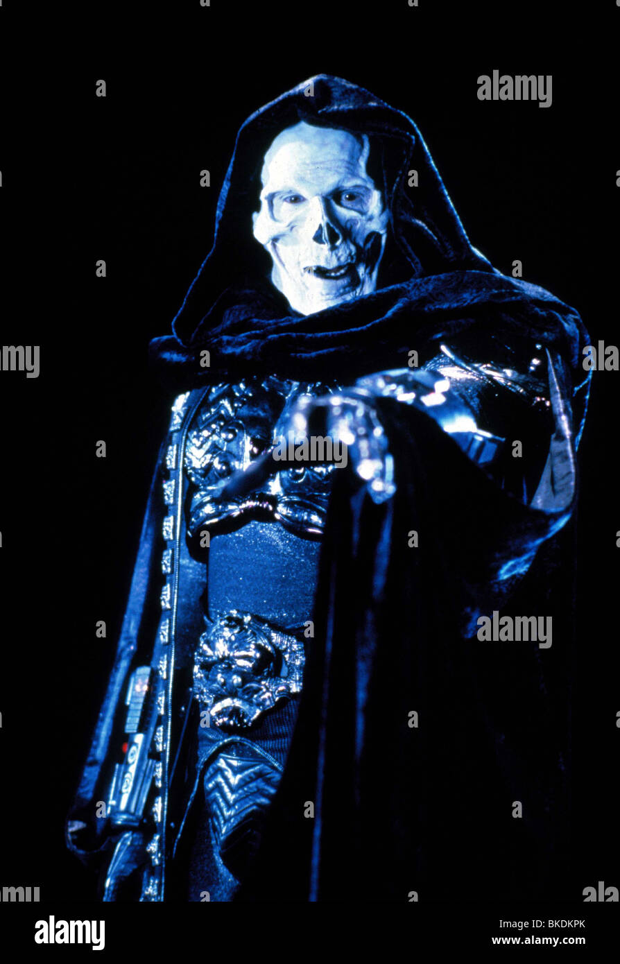 MASTERS OF THE UNIVERSE (1987) FRANK LANGELLA MOU 038 - Stock Image