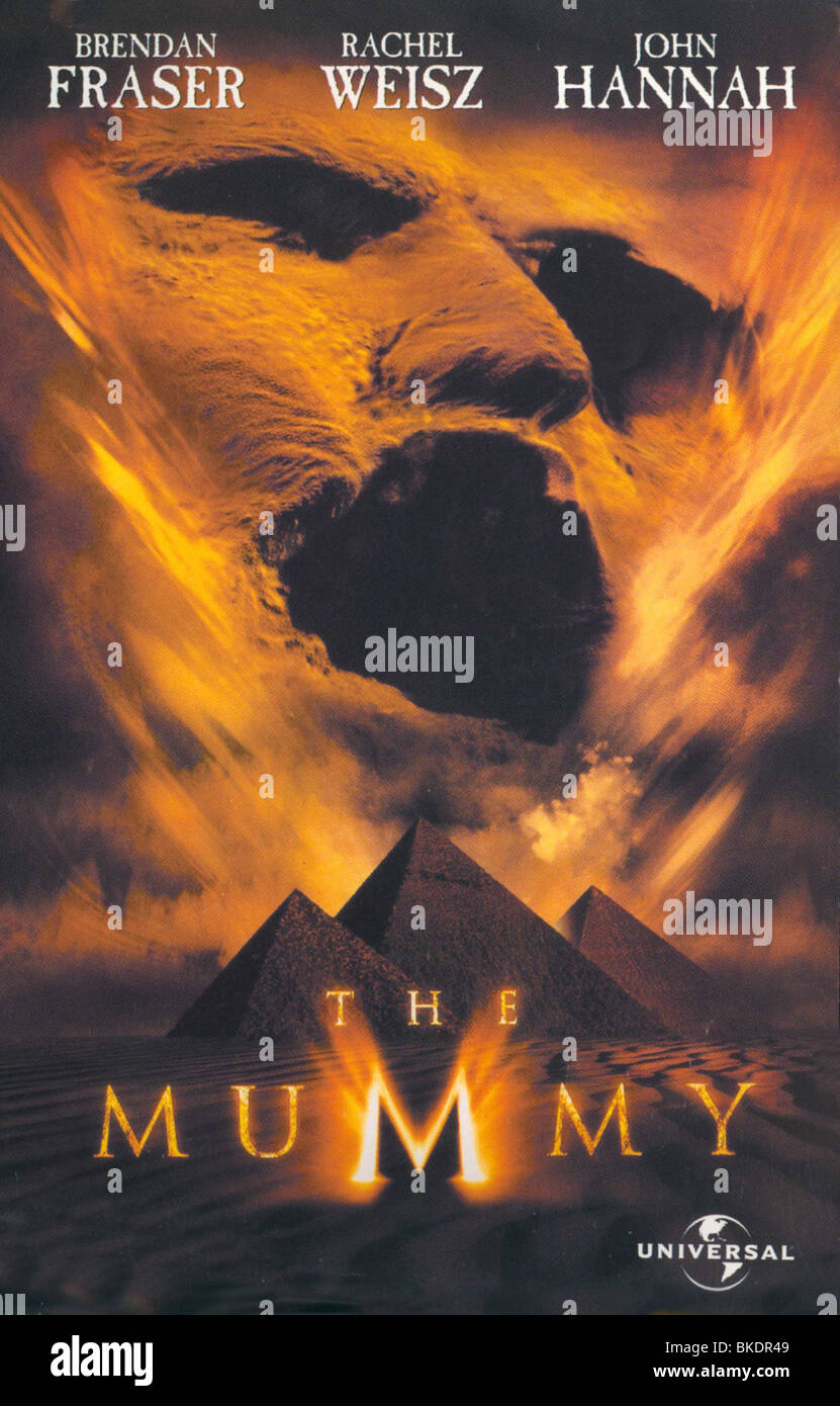 THE MUMMY -1999 POSTER - Stock Image
