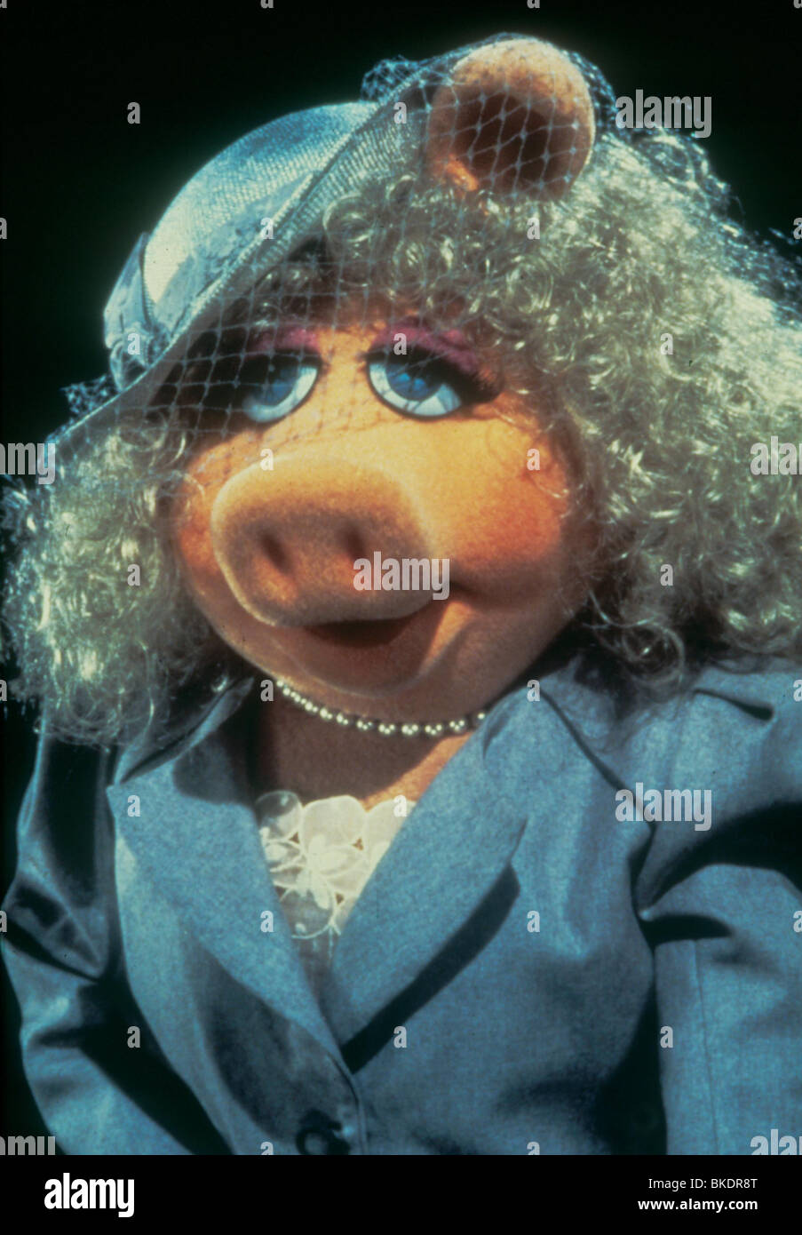 THE MUPPETS TAKE MANHATTAN (1984) MISS PIGGY MTM 009 - Stock Image