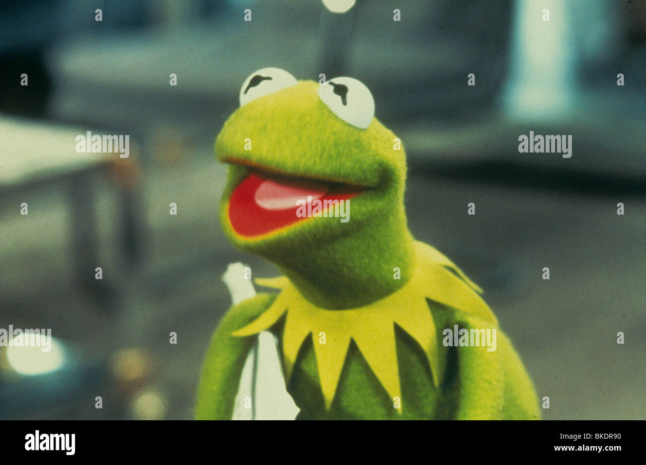 THE MUPPETS TAKE MANHATTAN (1984) KERMIT THE FROG MTM 012 - Stock Image