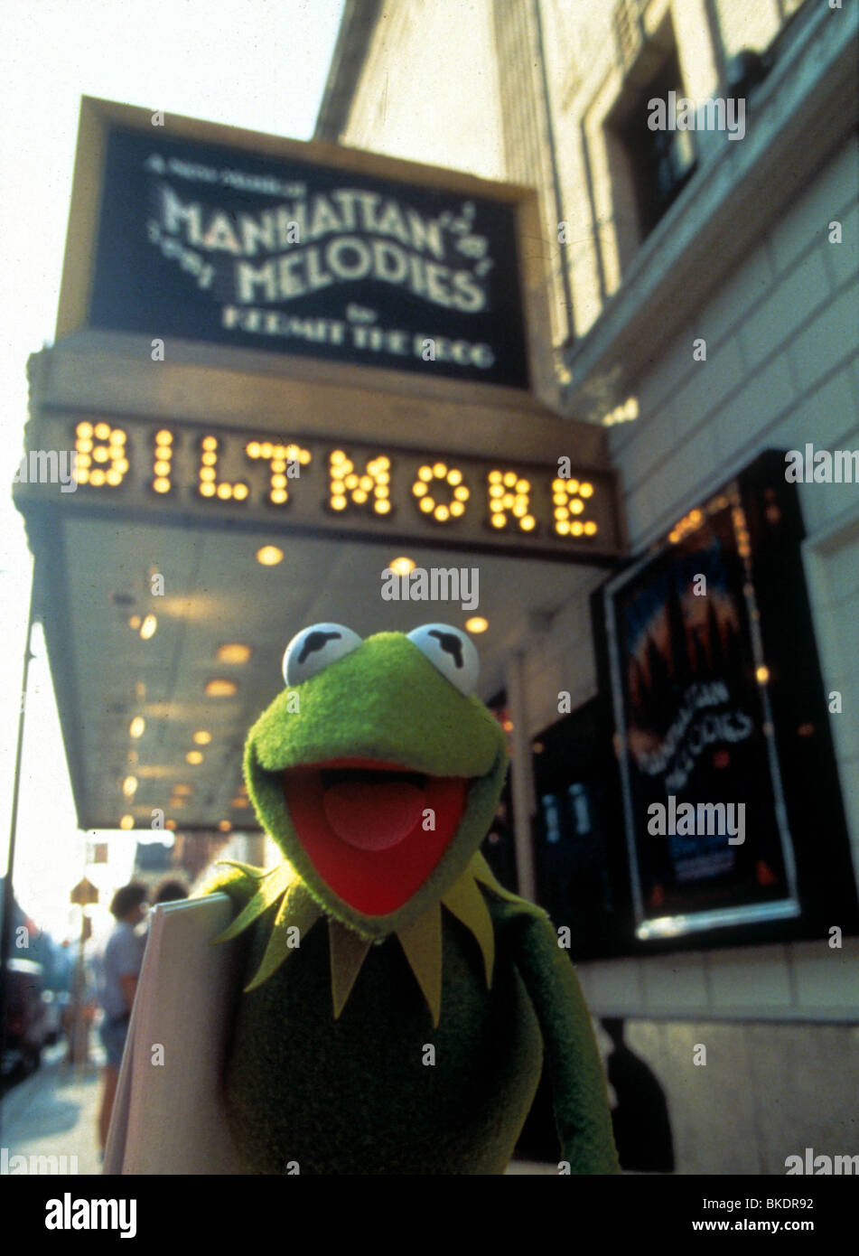 THE MUPPETS TAKE MANHATTAN (1984) KERMIT THE FROG MTM 013 - Stock Image