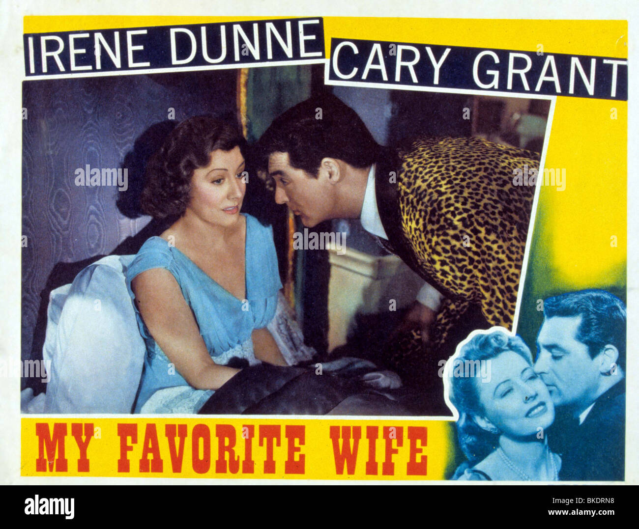 MY FAVORITE WIFE (1940) MY FAVOURITE WIFE (ALT) POSTER MFVW 003 - Stock Image
