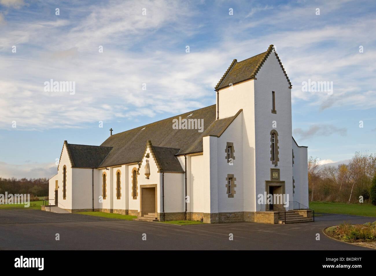 Catholic Church of the Holy Name, Oakley near Dunfermline - Stock Image