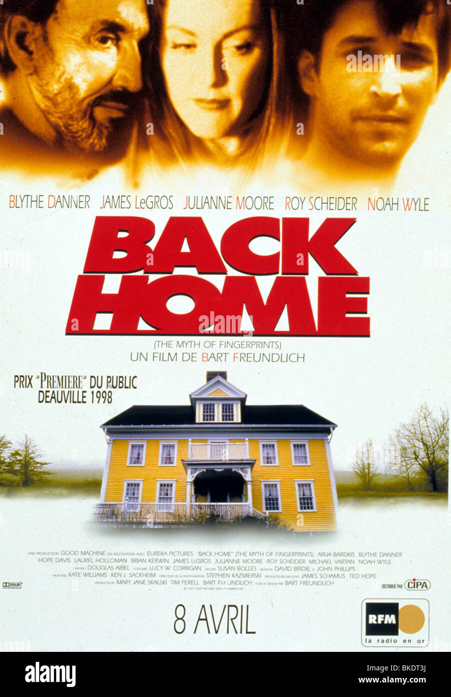 MYTH OF FINGERPRINTS (1997) BACK HOME (ALT) POSTER MYFN 021 - Stock Image