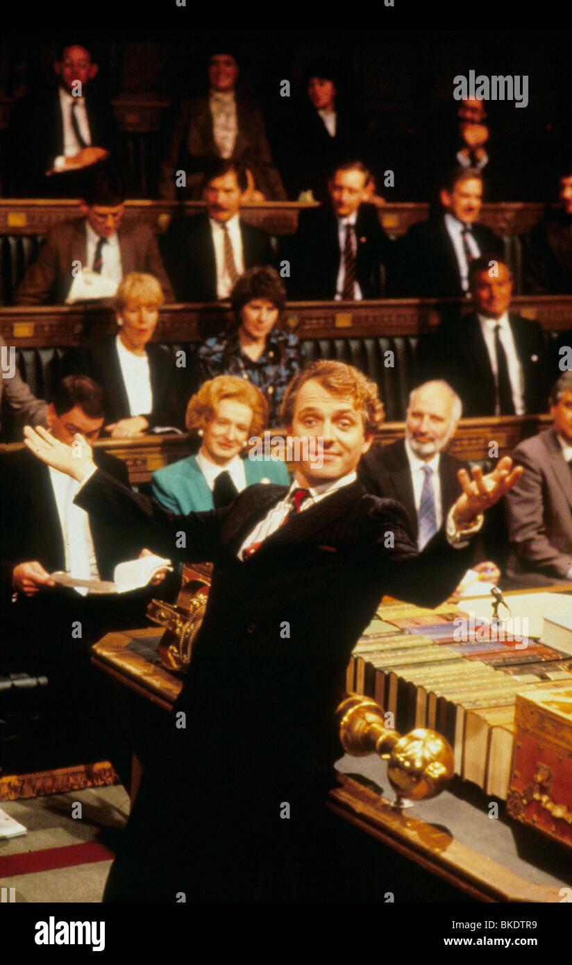 THE NEW STATESMAN (TV) RIK MAYALL ESMA 002 - Stock Image