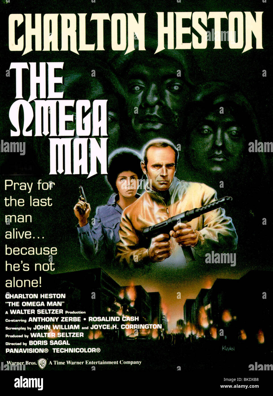 The Omega Man Film High Resolution Stock Photography and Images - Alamy