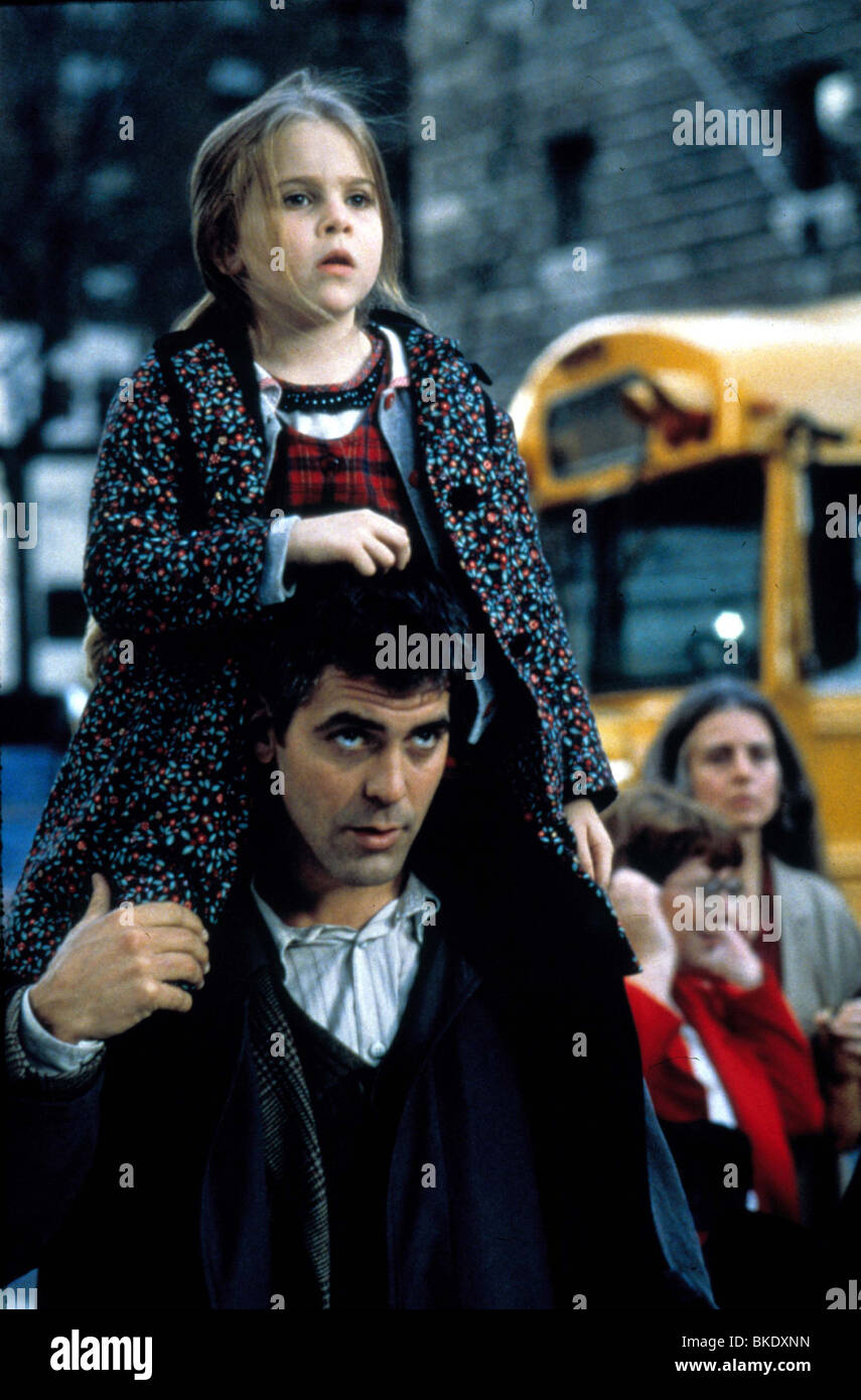 ONE FINE DAY (1996) MAE WHITMAN, GEORGE CLOONEY OFD 094 Stock Photo
