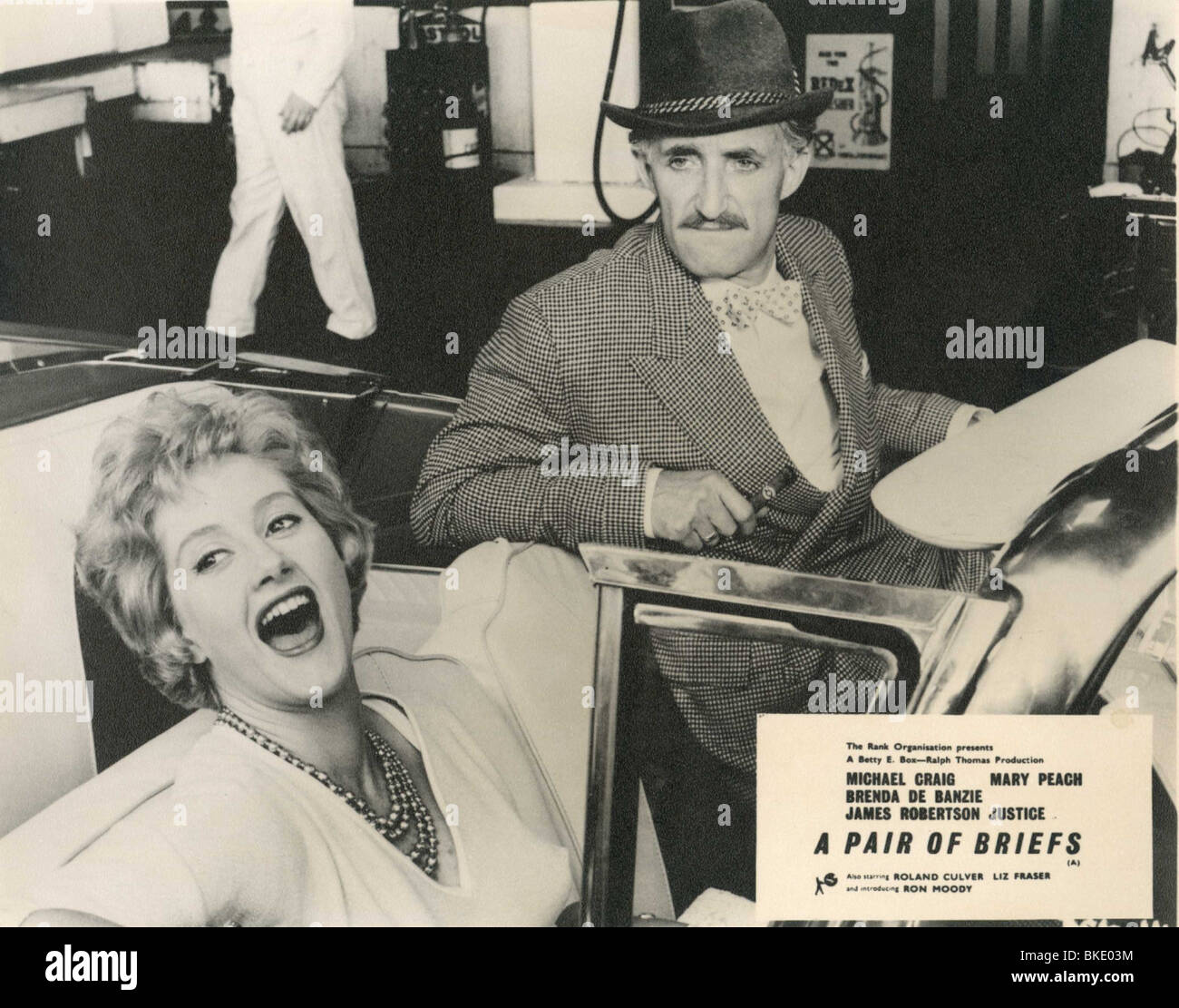 A PAIR OF BRIEFS (1961) LIZ FRASER, RON MOODY PRBR 002P - Stock Image