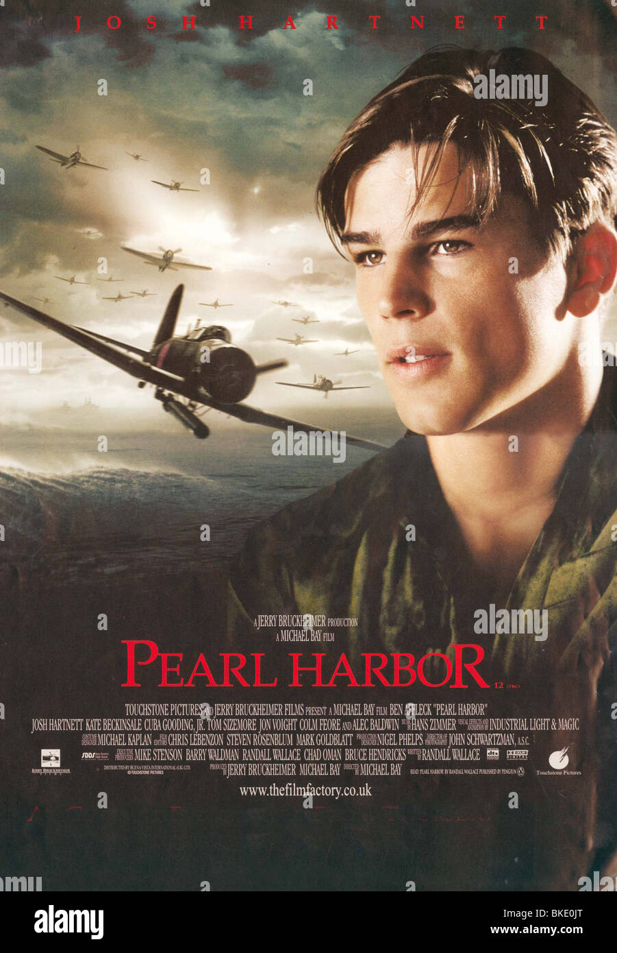 Pearl Harbor 2001 Poster Stock Photo Alamy
