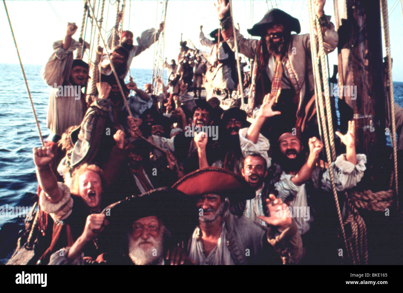 PIRATES -1986 - Stock Image